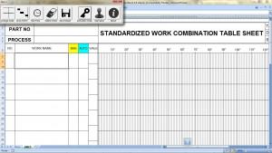 Standardized Work Combination Table Macro